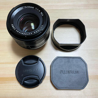 フジフイルム(富士フイルム)のfujifilm xf35mm f1.4 (レンズ(単焦点))