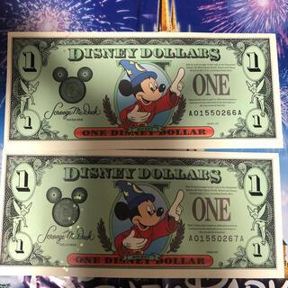 ディズニー(Disney)のディズニーダラー 海外ディズニー(キャラクターグッズ)