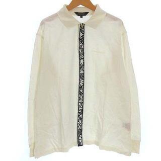 レオナール(LEONARD)のレオナール LEONARD HOMME ポロシャツ カットソー ロゴ 刺繍 長袖(ポロシャツ)