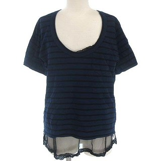 サカイラック(sacai luck)のサカイラック sacai luck Tシャツ カットソー レイヤード チュール(Tシャツ(半袖/袖なし))