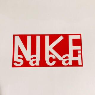 ナイキ(NIKE)のサカイ ナイキ ステッカー(ステッカー)