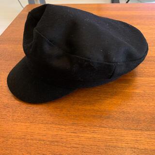 ザラ(ZARA)のZARA キャスケット 帽子 キャップ 新品(キャスケット)