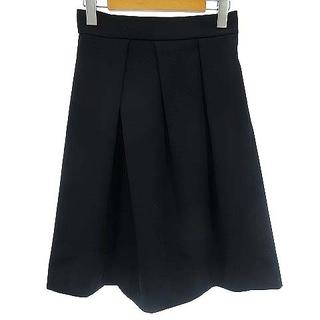ブラーミン(BRAHMIN)のブラーミン BRAHMIN スカート フレア ひざ丈 膝丈 ネイビー 紺 38(ひざ丈スカート)