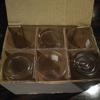 トウヨウササキガラス(東洋佐々木ガラス)のうすはりグラス 一口ビールグラス 6個入り(グラス/カップ)