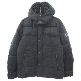 カンゴール(KANGOL)のカンゴール KANGOL ジャケット 中綿 素材切替 フード付き グレー ブラッ(その他)
