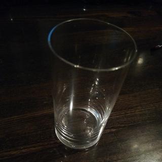 トウヨウササキガラス(東洋佐々木ガラス)のうすはりグラス 一口ビールグラス(グラス/カップ)