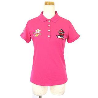 ディズニー(Disney)のディズニー Disney ポロシャツ ゴルフウェア ミッキー ユニオンジャック(ウエア)