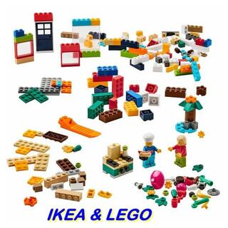 イケア(IKEA)の[地域限定] IKEA BYGGLEK レゴ ブロック201ピースセット(積み木/ブロック)