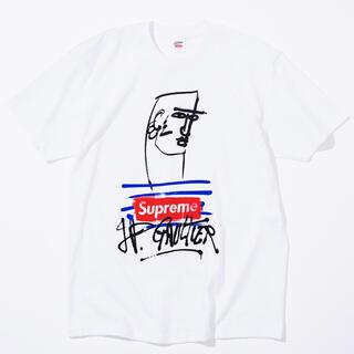 ジャンポールゴルチエ(Jean-Paul GAULTIER)のSupreme  ジャンポール ゴルチェ Tシャツ 白 M ボックスロゴ(Tシャツ/カットソー(半袖/袖なし))