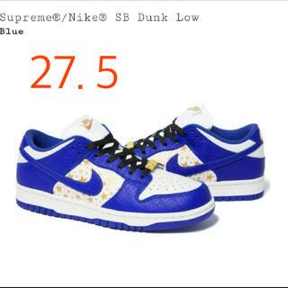 シュプリーム(Supreme)のSupreme®/Nike® SB Dunk Low Blue 27.5(スニーカー)