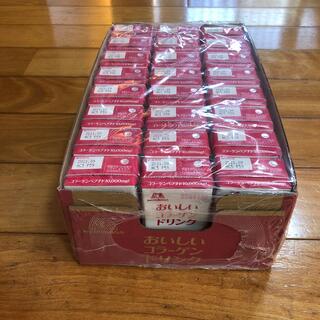 モリナガセイカ(森永製菓)の森永 おいしいコラーゲンドリンク ピーチ味 24本(コラーゲン)