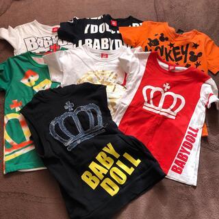 ベビードール(BABYDOLL)のBABY DOLL 140サイズ 半袖Tシャツ7枚セット(Tシャツ/カットソー)
