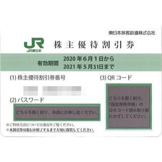 ★20枚組★ JR東日本 株主優待 4割引優待券 ※2021年5月31日まで(その他)