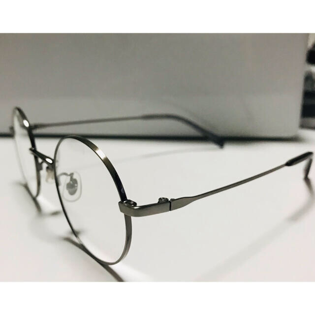 Zoff(ゾフ)のzoff ゾフ 丸眼鏡 ステンレス シルバー レディースのファッション小物(サングラス/メガネ)の商品写真