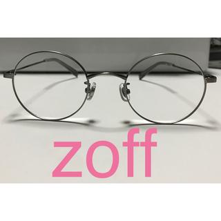 Zoff - zoff ゾフ 丸眼鏡 ステンレス シルバー