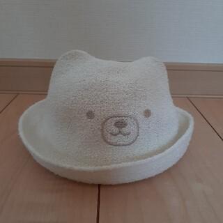 コンビミニ(Combi mini)のCombi mini くまさん帽子 46センチ(帽子)