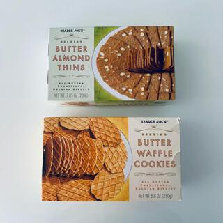 【Trader Joe's】箱クッキー2点セット【トレーダージョーズ】(菓子/デザート)