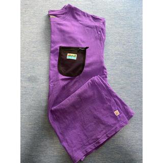 コーエン(coen)の紫 パープル tシャツ(Tシャツ/カットソー(半袖/袖なし))