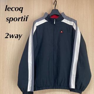 ルコックスポルティフ(le coq sportif)のlecoq  ルコックスポルティフ レディース 2way ジャージ ナイロン M(ウエア)