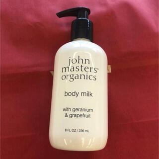 ジョンマスターオーガニック(John Masters Organics)のジョンマスターオーガニック ボディミルク ゼラニウム、グレープフルーツ 新品(ボディローション/ミルク)