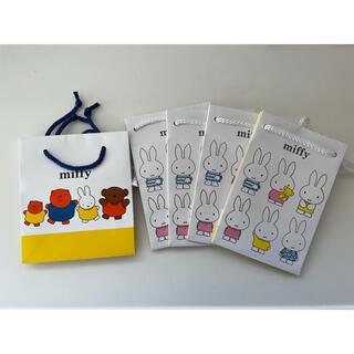 ミッフィー 紙袋(キャラクターグッズ)