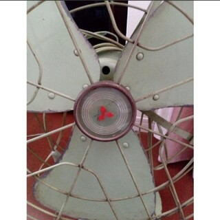ミツビシ(三菱)の昭和初期 アンティーク 扇風機 動作あり(扇風機)