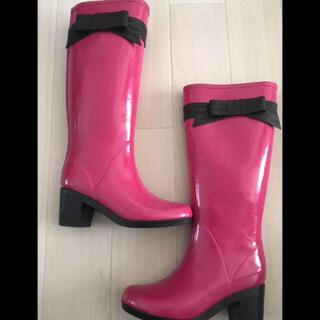 ケイトスペードニューヨーク(kate spade new york)のKate Spade New York リボンレインブーツ(レインブーツ/長靴)