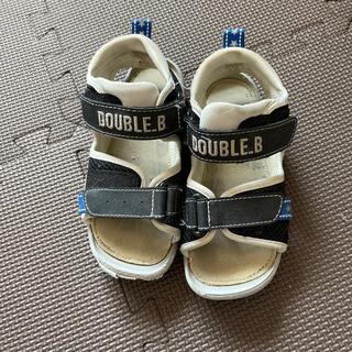 ダブルビー(DOUBLE.B)のキッズ17(サンダル)