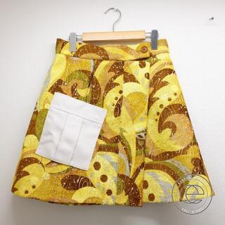 ルイヴィトン(LOUIS VUITTON)のルイ・ヴィトン スカート 38(ひざ丈スカート)