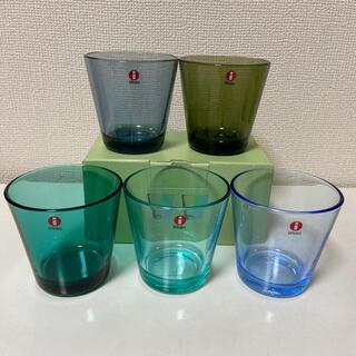 イッタラ(iittala)の新品☆イッタラ カルティオ タンブラー 5点(グラス/カップ)