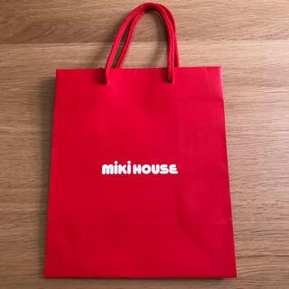 ミキハウス(mikihouse)のミキハウス mikiHOUSE 紙袋(ショップ袋)