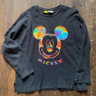 ザラキッズ(ZARA KIDS)の【ZARA KIDS】× Disney ミッキー フォロ ロンT 130(Tシャツ/カットソー)