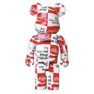 メディコムトイ(MEDICOM TOY)の【新品未開封】BE@RBRICK atmos Coca-Cola 1000%(その他)