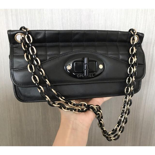 CHANEL(シャネル)の極美品♡シャネル CHANEL チョコバー 2.55 チェーンショルダーバッグ  レディースのバッグ(ショルダーバッグ)の商品写真