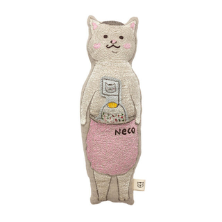 アッシュペーフランス(H.P.FRANCE)のCORAL & TUSK きょうの猫村さんコラボレーション ポケットドール(クッション)