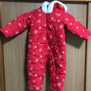 ムージョンジョン(mou jon jon)の冬用ジャンパー90サイズ・フード・ジャケット(ジャケット/上着)