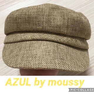 アズールバイマウジー(AZUL by moussy)のAZUL by moussyキャスケット(キャスケット)