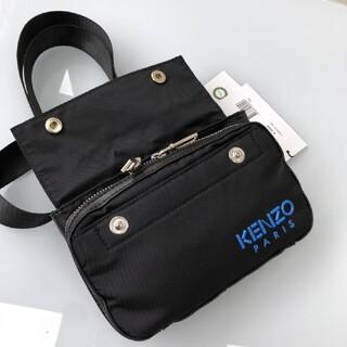 ケンゾー(KENZO)のKENZO  ショルダーバッグ  ブラック(ショルダーバッグ)