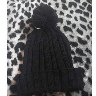 ステューシー(STUSSY)のニット帽 ブラック バケットハット ストリート 海外 インポート(ニット帽/ビーニー)