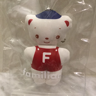 ファミリア(familiar)のファミリア ノベルティ 70周年記念 ファミちゃん チャーム キーホルダー (その他)