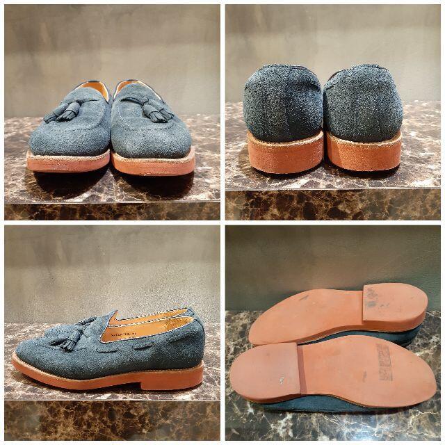 GEORGE COX(ジョージコックス)のGEORGE COX JS別注 スエードタッセルローファー メンズの靴/シューズ(ドレス/ビジネス)の商品写真