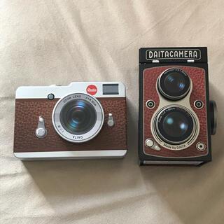 カルディ(KALDI)のKALDI カルディ カメラ缶 2つセット(小物入れ)