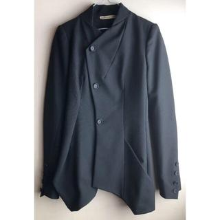 バレンシアガ(Balenciaga)のバレンシアガ BALENCIAGA モード デザイン テーラードジャケット  黒(テーラードジャケット)
