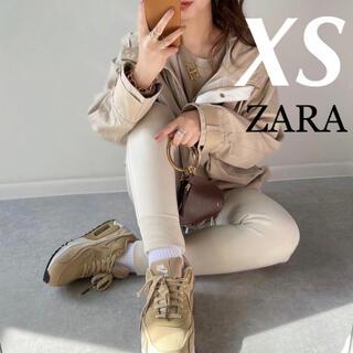 ザラ(ZARA)の新品未使用 ZARA完売 フード付きジャケット マウンテンパーカー XS(マウンテンパーカー)