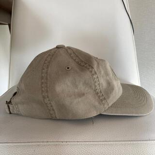 ユニクロ(UNIQLO)のユニクロ 帽子 ベージュ ユニセックス(キャップ)