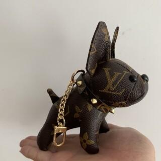 LOUIS VUITTON - 可愛♔♔大人気 ♔♔ルイヴィトン キーホルダー 犬