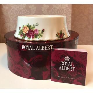 ロイヤルアルバート(ROYAL ALBERT)のRoyal Albert ペットボウル ボックス オールドカントリーローズ(食器)