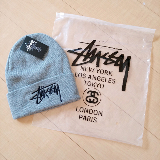 STUSSY(ステューシー)の【大人気!】STUSSY ニット帽 ステューシー メンズの帽子(ニット帽/ビーニー)の商品写真