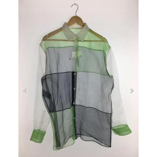 マルタンマルジェラ(Maison Martin Margiela)のマルジェラ チュールシャツ2019ss(シャツ/ブラウス(長袖/七分))