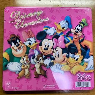 ディズニー(Disney)のディズニー色鉛筆 24色(色鉛筆)